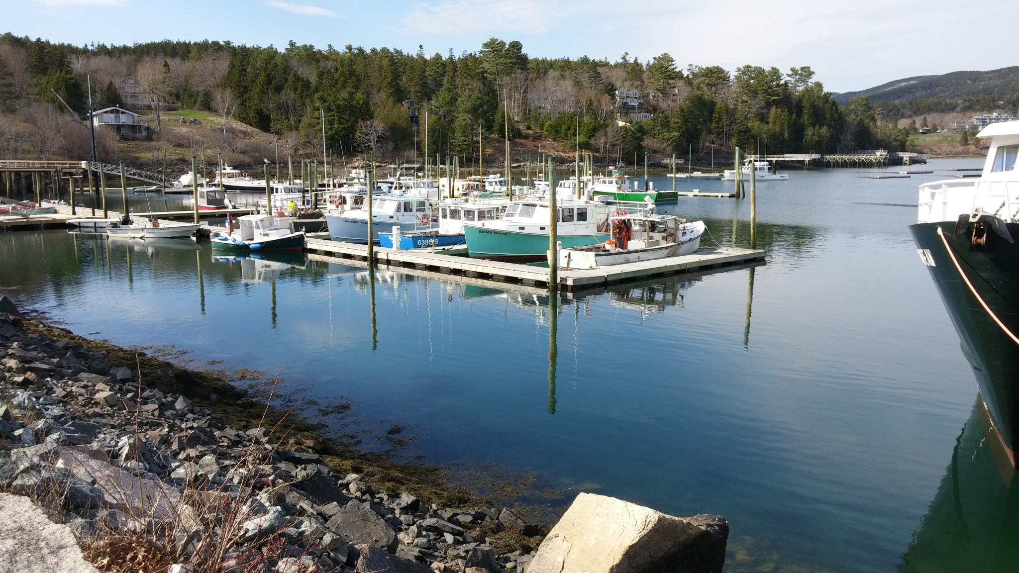 Northeast Harbor Lobstering…..